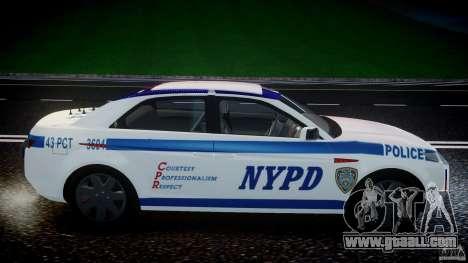 Carbon Motors E7 Concept Interceptor NYPD [ELS] for GTA 4