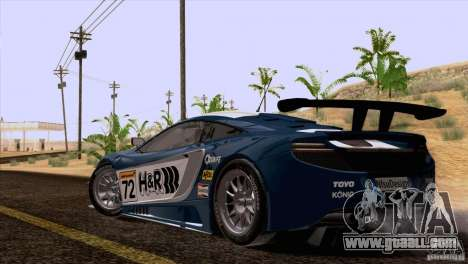 McLaren MP4-12C Speedhunters Edition for GTA San Andreas engine