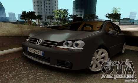 Volkswagen Golf 5 TDI for GTA San Andreas