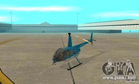 Robinson R44 Raven II NC 1.0 TV for GTA San Andreas left view