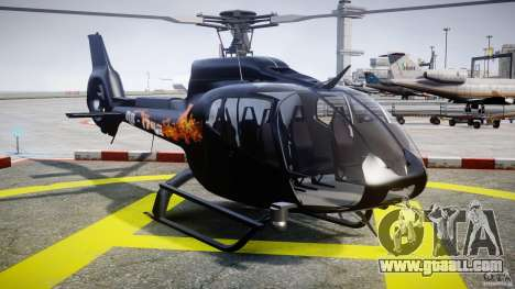 Eurocopter 130 B4 for GTA 4 back view
