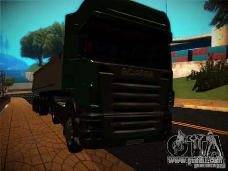 Scania R580 for GTA San Andreas side view