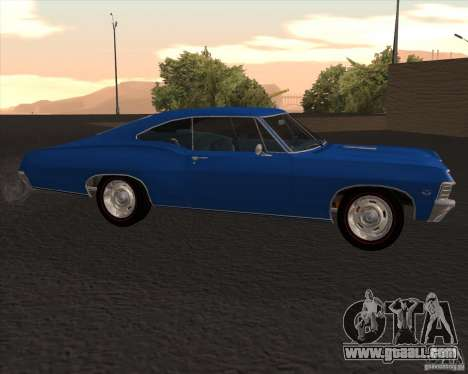 Chevrolet Impala 427 SS 1967 for GTA San Andreas left view