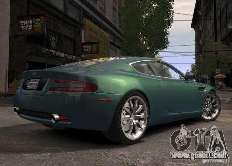 Aston Martin DB9 2008 v 1.0 for GTA 4 back left view