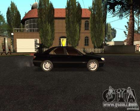 Peugeot 406 for GTA San Andreas back view