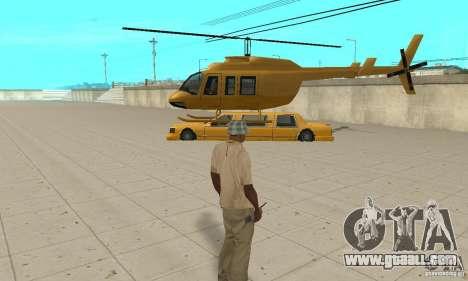 VIP TAXI for GTA San Andreas forth screenshot