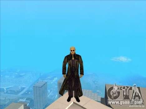 Matrix Skin Pack for GTA San Andreas fifth screenshot