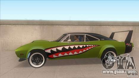 Dodge Charger RT SharkWide for GTA San Andreas left view