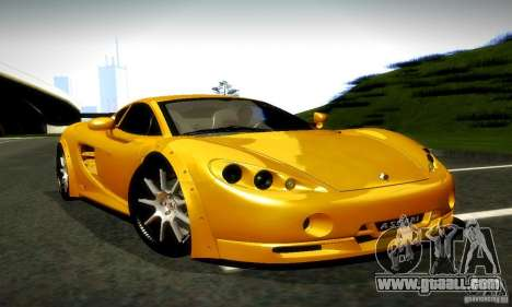 Ascari KZ1R Limited Edition for GTA San Andreas right view
