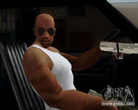 Blue glasses Aviator for GTA San Andreas fifth screenshot
