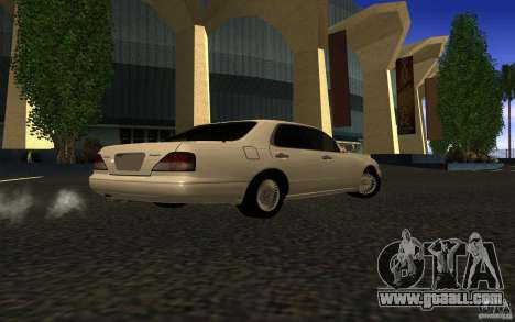 Nissan Cedric Stock for GTA San Andreas left view