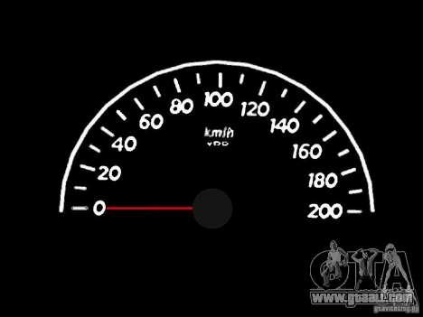 Speedometer 0.5 beta for GTA San Andreas