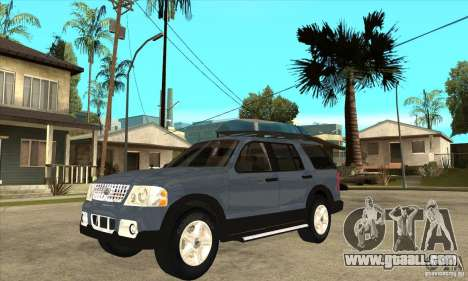 Ford Explorer 2004 for GTA San Andreas