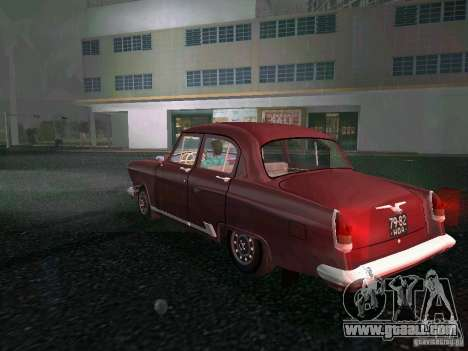 Gaz-21r 1965 for GTA Vice City back left view