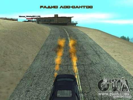 Car Effect for GTA San Andreas second screenshot