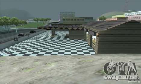 The updated garage CJ in SF for GTA San Andreas forth screenshot