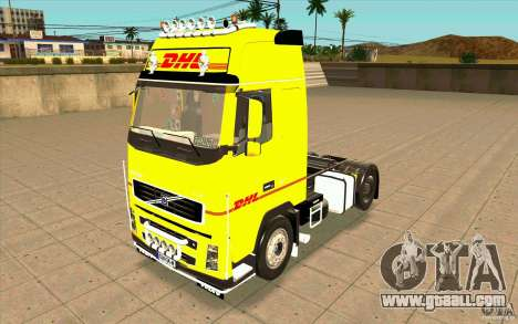 Volvo FH16 Globetrotter DHL for GTA San Andreas