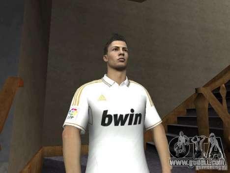 Cristiano Ronaldo for GTA San Andreas third screenshot