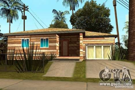 New textures of houses on Grove Street for GTA San Andreas fifth screenshot