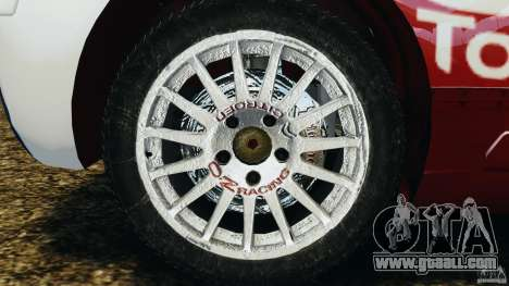Citroen C4 WRC for GTA 4 back view