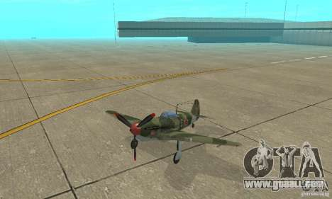 Yak-9 during WORLD WAR II for GTA San Andreas
