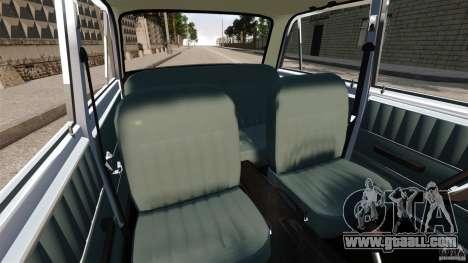Vaz-2101 Resto for GTA 4 inner view