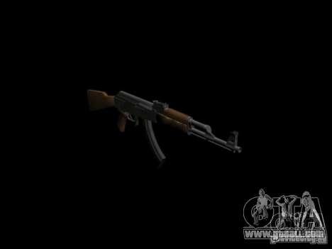 Arms of GTA 4 for GTA San Andreas