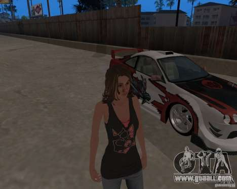 Tony Hawks Emily for GTA San Andreas forth screenshot