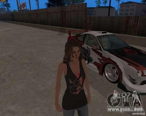 Tony Hawks Emily for GTA San Andreas forth screenshot
