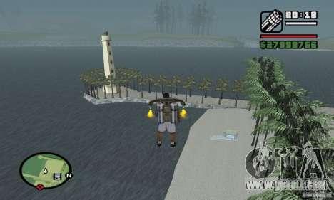 Paradise Beach for GTA San Andreas third screenshot