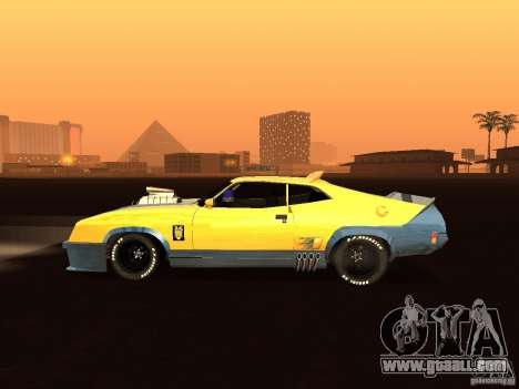 Ford Falcon XB Coupe Interceptor for GTA San Andreas left view