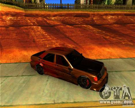 Mercedes Benz 190E - SpeedHunters Edition for GTA San Andreas left view