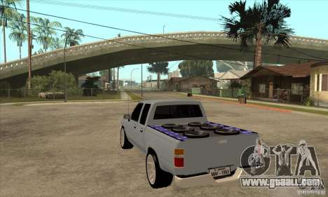 Toyota Hilux Surf v2.0 for GTA San Andreas back left view