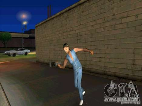 Other people's behavior for GTA San Andreas third screenshot