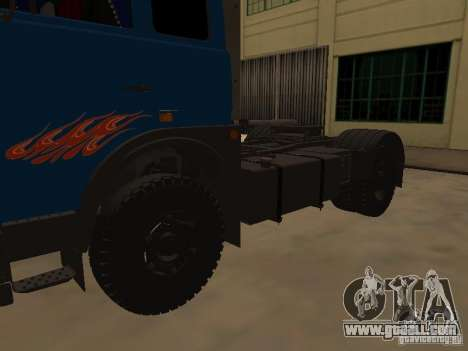 MAZ 5432 YAMZ-238b 4 x 2 for GTA San Andreas right view