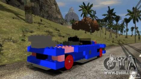 LEGOCAR for GTA 4 back left view