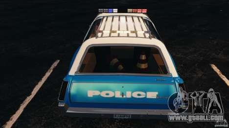 Oldsmobile Vista Cruiser 1972 Police v1.0 [ELS] for GTA 4