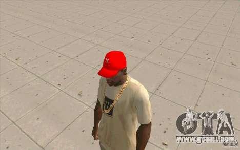 Newyorkyankiys Cap Red for GTA San Andreas