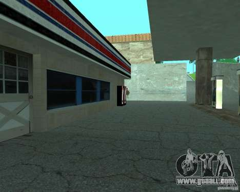 New Xoomer. new gas station. for GTA San Andreas fifth screenshot