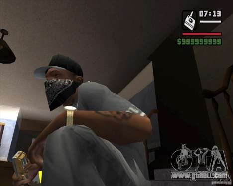 Detector of s. t. a. l. k. e. R # 1 for GTA San Andreas second screenshot