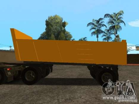 GKB 8350 Flatbed for GTA San Andreas left view