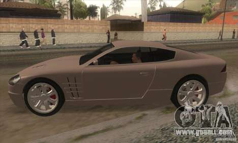 GTA IV F620 for GTA San Andreas left view