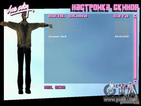 MK 9 Scorpion Costume for GTA Vice City second screenshot
