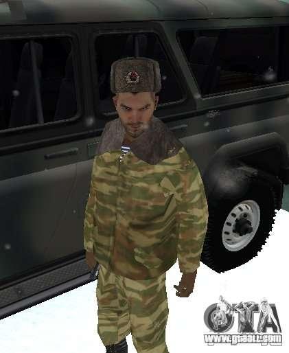 Dembele Covetskoj army for GTA San Andreas
