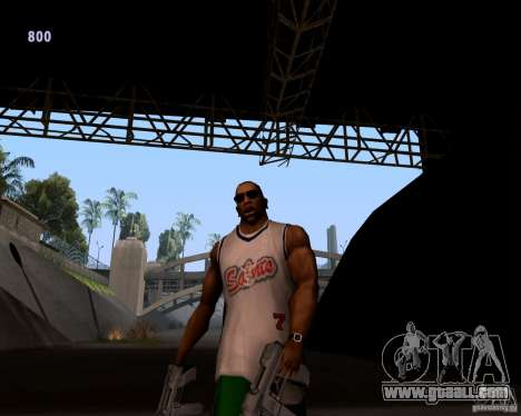 Gangster gait for GTA San Andreas second screenshot