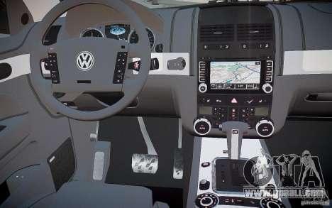 Volkswagen Touareg R50 for GTA 4 upper view