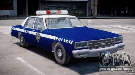 Chevrolet Impala Police 1983 [Final] for GTA 4 left view