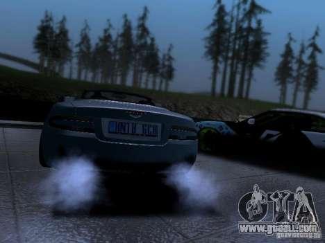 Aston Martin DB9 Volante 2006 for GTA San Andreas left view