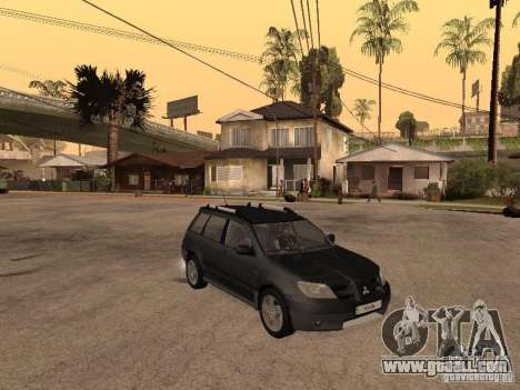 Mitsubishi Outlander 2003 for GTA San Andreas right view