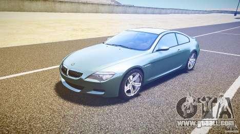 BMW M6 v1.0 for GTA 4 left view